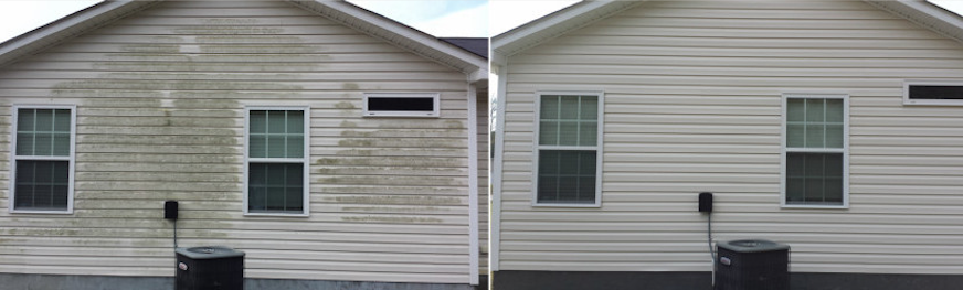 Softwash-house-siding-cleaned-before-after